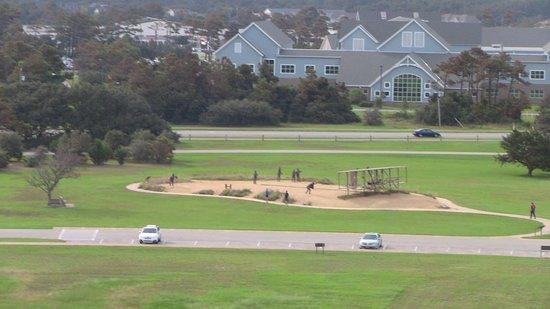 Kill Devil Hills, Kuzey Carolina: View from the Memorial