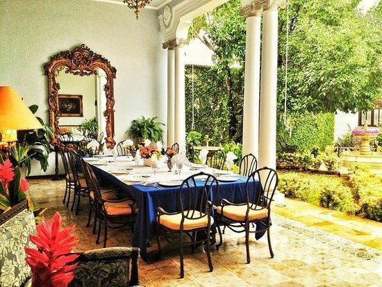 Casa Azul Hotel Monumento Historico: Restaurant