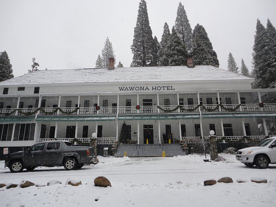 Christmas Eve at the Wawona Hotel (Now has new name)