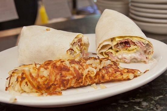 Upton, MA: Breakfast wrap