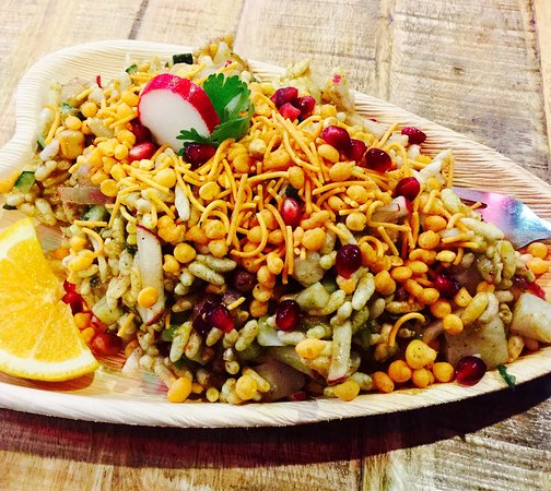 "Fayetteville, AR: amazing and original ""Bhel Puri"""