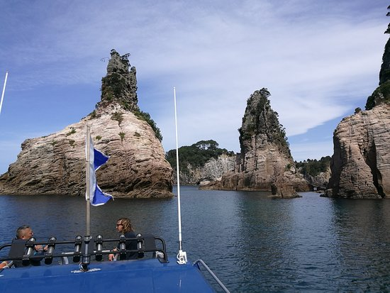 Whitianga, New Zealand: Champagne Rocks near Hahei