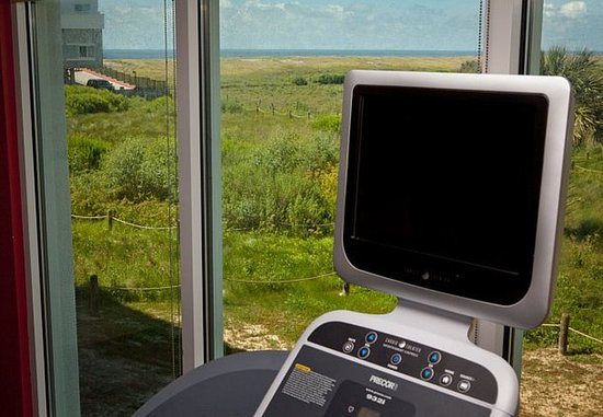 TownePlace Suites Galveston Island: Fitness Center View