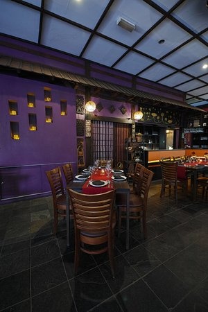 Samira by Asian Terrace: Indoor dining