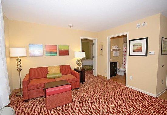 ไอเคน, เซาท์แคโรไลนา: One-Bedroom Suite - Living Area