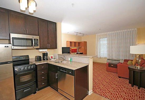 ไอเคน, เซาท์แคโรไลนา: One-Bedroom Suite – Kitchen Area