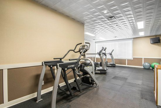 Quality Hotel Drumheller: Exercise Room