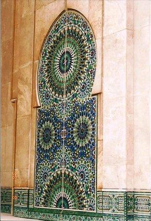 Casablanca, Marruecos: Tile work