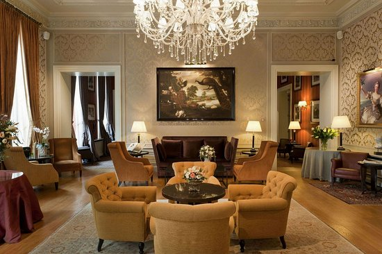 Grand Hotel Casselbergh Bruges: Lobby area