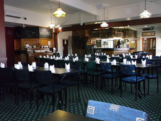 Geraldine, Νέα Ζηλανδία: Inside the restaurant.