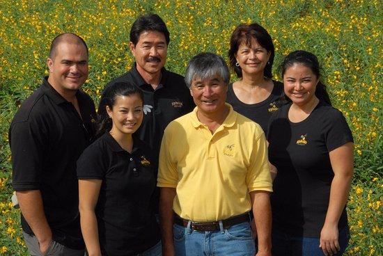 Kahuku, HI: Matsuda and Fukuyama Family