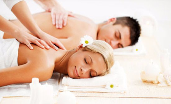 Staunton, Virginie : couple massage