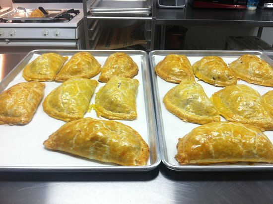 Harrisville, MI: All homemade 18 to 20 ounce pasties fresh from the oven!!