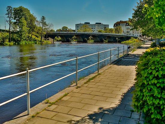 Falkenberg, Schweden: Exterior