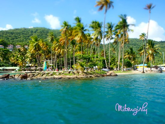Vieux Fort, Sta. Lucía: beautiful boat ride-Marigot Bay