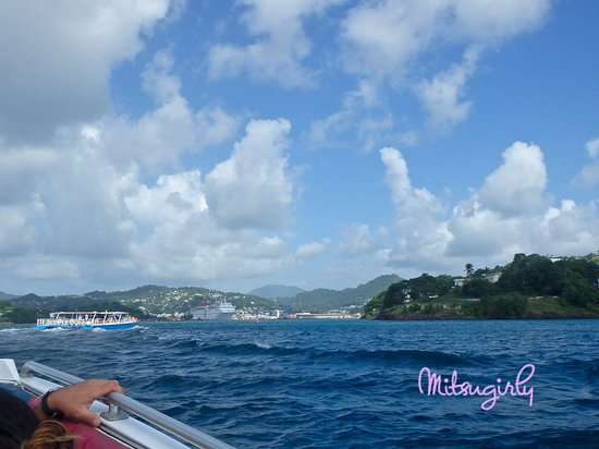 Vieux Fort, St. Lucia: beautiful boat ride