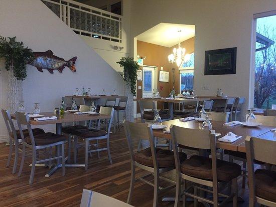Big Lake, Аляска: The Alaska Boathouse Restaurant
