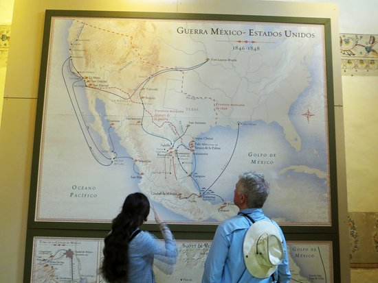 Map of the Mexican American War 1846 1848 Picture of Museo