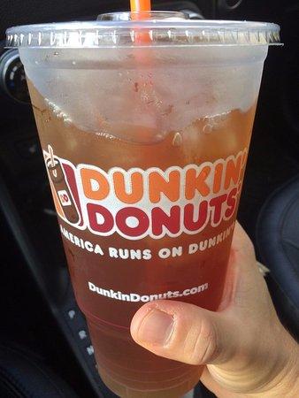 Paramus, Nueva Jersey: Iced tea for the morning ride!