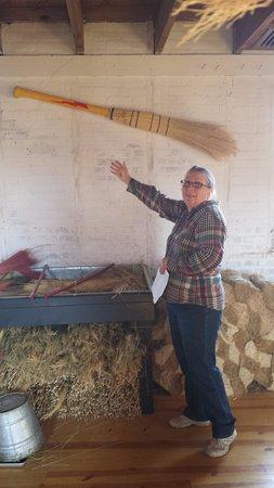 Laramie, WY: Prison broom factory.