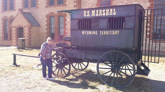 Laramie, WY: Paddy Wagon .... without any padding.