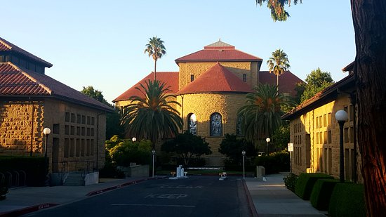 Palo Alto, CA: Back of Memorial Chruch (Mem Chu)