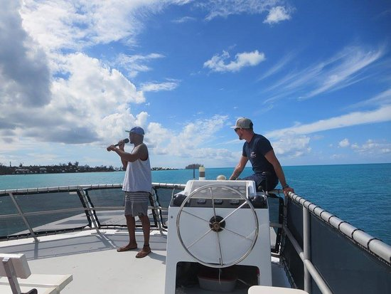 Hamilton, Bermuda: our fun crew members