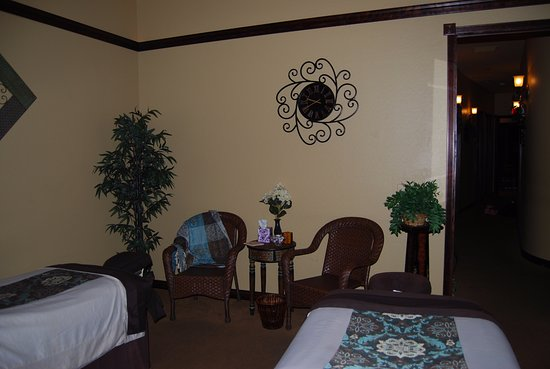 Gilbert, AZ: Beautiful couples room for side by side massages