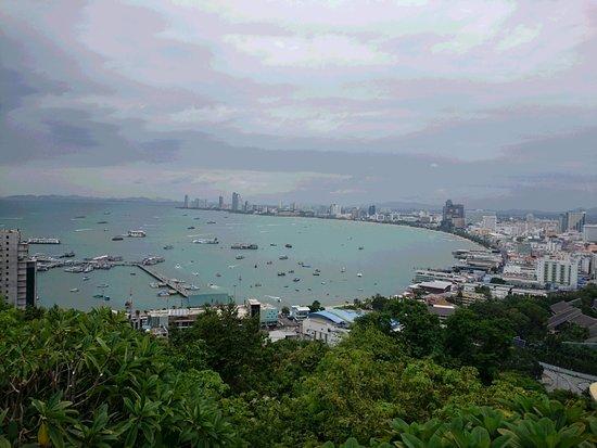 Bang Lamung, Thailand: パタヤ シティ ビュー