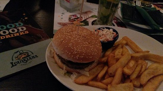 Oberhausen, Germany: Acadien Burger