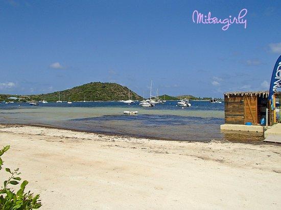 Cul de Sac, St. Martin/St. Maarten: Kayaking to Pinel Island