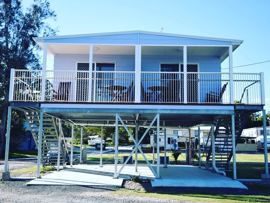 Nambucca Heads, Αυστραλία: Deluxe Riverfront Cabin