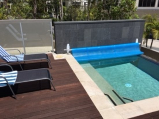 RACV Noosa Resort: The private plunge pool at our Enclave Villa.