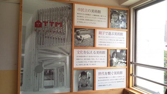 Tokyo Toy Museum : 美術館入口