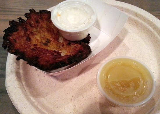 Vernon Hills, IL: mini potato pancake