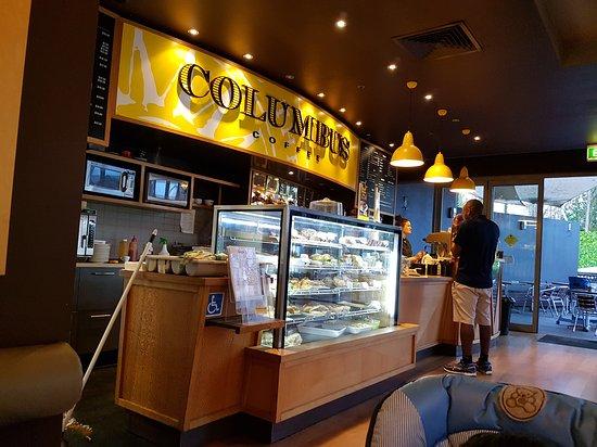Mount Wellington, نيوزيلندا: Columbus Coffee - Sylvia Park