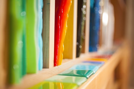 Penarth, UK: Sheet glass, tools and equipment for stained and fused glass.