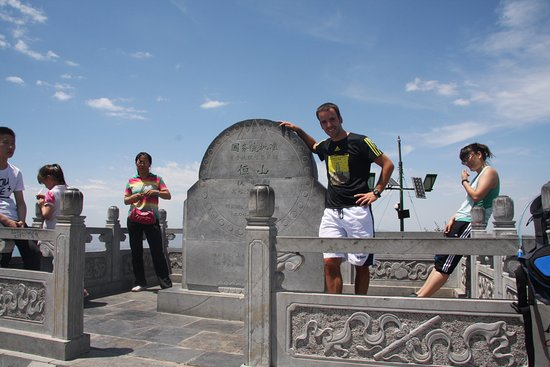 Beiyue Temple of Hengshan Mountain, Shanxi: At the top of Hengshan