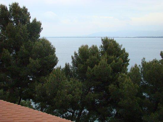 Hotel Filippo II: widok z okna