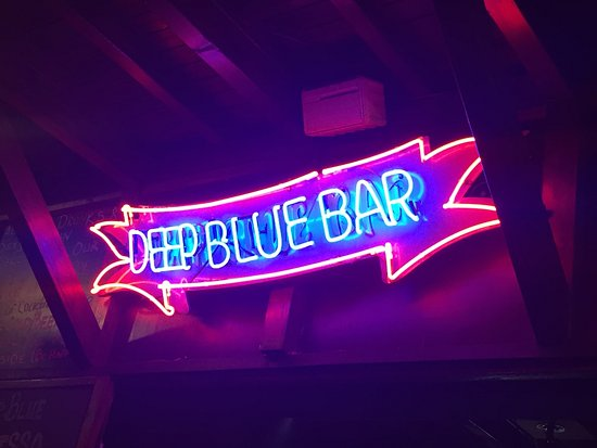 Deep Blue Bar Photo