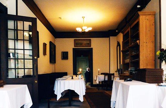 Interiør på Brøndums Hotel Restaurant