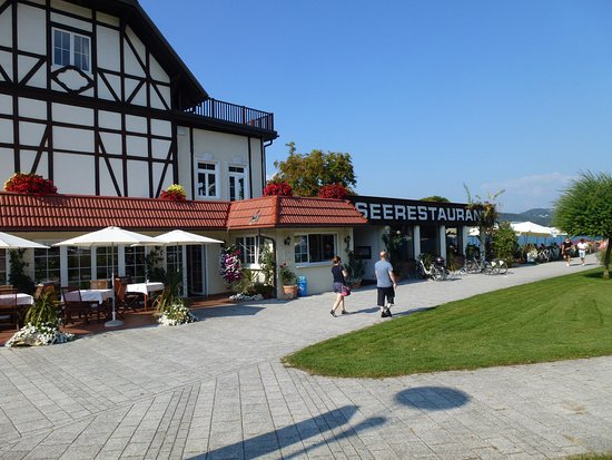 Reifnitz, Austria: The restaurant building