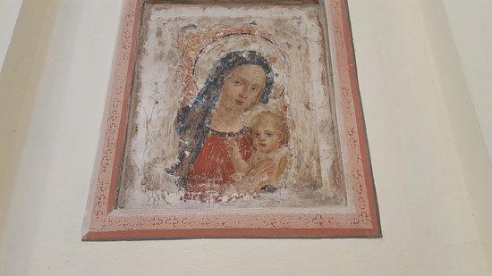 Trevi, Włochy: affresco