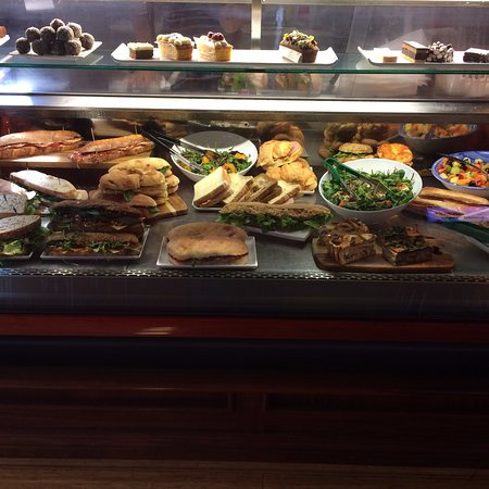 E-Sense Cafe: A sample of the great food on offer.
