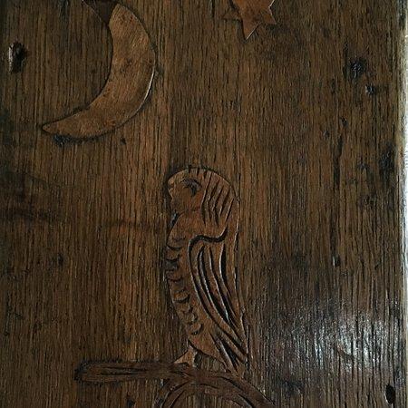 Ilminster, UK: Fascinating carvings
