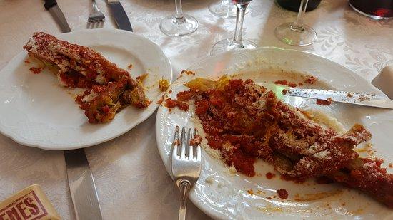 Trevi, Italia: sedano ripieno