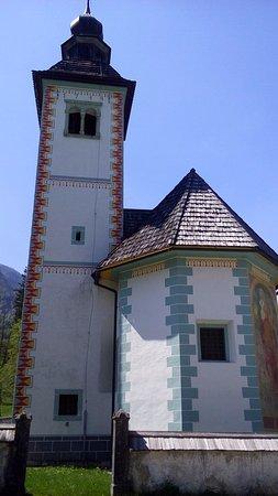 Jezioro Bohinjsko, Słowenia: Eine Curch wie viele andere