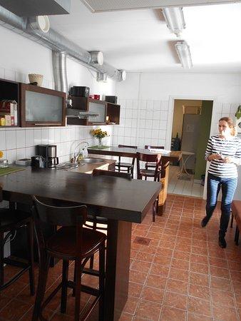 Hostel Ingeri: Köket.
