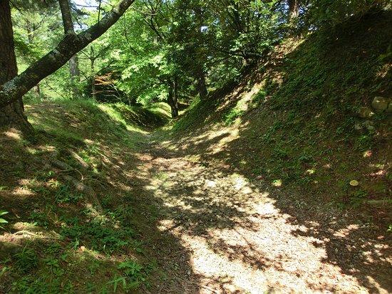 Mori-machi, Japón: 空堀の跡