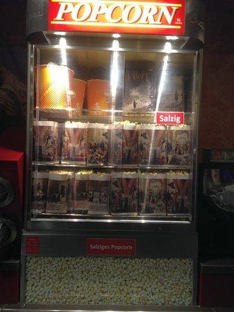 Neufahrn bei Freising, Duitsland: salziges Popcorn